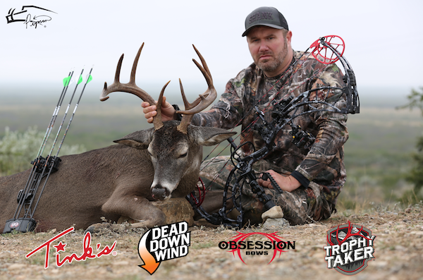 Arcus Hunting Teams With Pigman To Promote Obsession Bows, Trophy Taker, Dead Down Wind, Tink's Brands